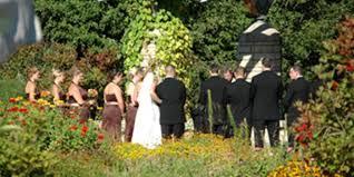 Michigan Botanical Gardens U Of M Matthaei Botanical Gardens Weddings