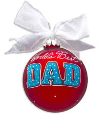 1 dad vintage handpainted glass ball u2013 personalized ornaments