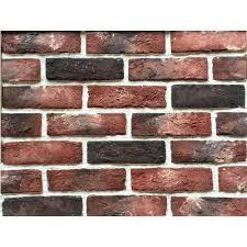 exposed brick exposed brick clay veneer tile at rs 40 piece clay tiles id