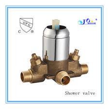 Shower Faucet Diverter Upc Standard Bathroom Faucet Diverter Valve In Chrome Plate Brass