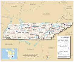 Map Qust Mapquest Of Tennessee Show Map Of Tennessee Bing Map Of