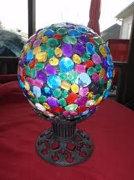 233 best garden art with bowling balls images on pinterest