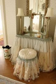 Skirted Vanity Chair Laurel Suite Blantyre Luxury Country House Hotel