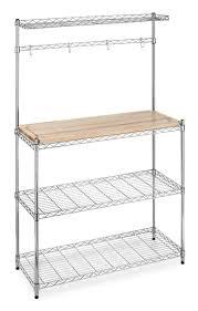 walmart metal shelves furniture microwave rack walmart bread racks metal bakers rack