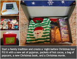 christmas gift for new christmas before christmas box a family tradition box and