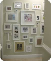 Picture Frame Hanging Ideas Creating Your Own Pictorial Family Tree Using Inexpensive Frames
