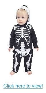 too frickin cute xo skeleton infant halloween costume 12 18