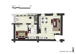 luxury floor plan rome center italy casa manni