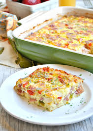 baked western omelet the seasoned mom