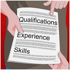 Computer Skills Qualifications Resume Job Skills And Qualifications Template
