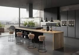 cuisine noir et gris cuisine noir mat et bois beautiful cuisine bois cuisine noir mat et