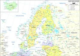 Map Europe Countries by Map Northern Europe Cool Map Northern Europe Countries