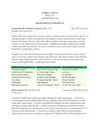 email resume to recruiter sample good resume cover letter email