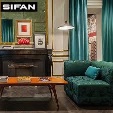 vorhã nge fã r schlafzimmer aliexpress hohe qualität sparkle italienischen samt vorhänge