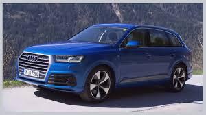 Audi Q7 Limo - 2016 audi q7 ara blue s line test drive audi pinterest audi