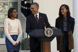 speech on thanksgiving obama to stay local for sasha to finish pbs newshour