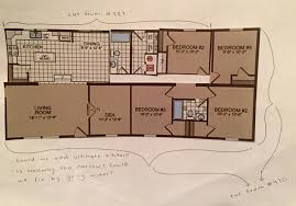 double wide floor plan 5 bedrooms in 1600 square feet u2014 brooklyn