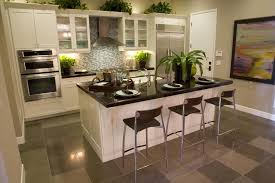 Eat In Kitchen Island Designs Galley Kitchen With Island Designs 39 Fabulous Eatin Custom