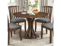 industrial kitchen table furniture coaster prescott rustic industrial dining table with slatted