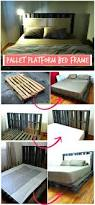 Exotic Platform Beds by Best 25 Wooden Platform Bed Ideas On Pinterest Pallet Platform