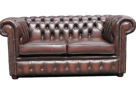 Chesterfield Leather Sofa Bed 2 Seater Chesterfield Sofa Two Seater Sofa Pinterest