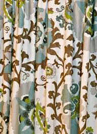 Brown Floral Curtains Floral Curtains Suzani Curtains Medallion Curtains Braemore