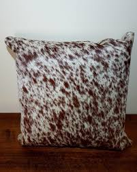 Metallic Cowhide Pillow Cowhide Pillow Covers