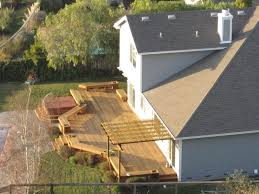 how to build a small house triyae com u003d building a deck in a small backyard various design