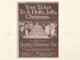 the 90s the singing christmas tree