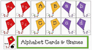 themed letters classroom freebies kite themed alphabet cards and packet