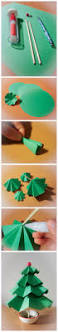 diy easy paper christmas tree diy projects usefuldiy com