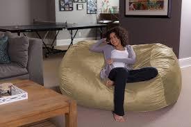 home theater bean bag chairs amazon com sofa sack bean bags6 u0027 large bean bag lounger camel