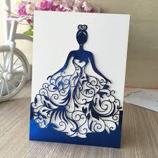 Pictures Of Wedding Invitation Cards Aliexpress Com Buy 30pcs Lot Beautiful Dress Birthday Paty