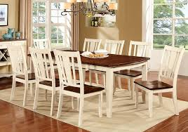 9 Pc Dining Room Set by Amazon Com Furniture Of America Macchio 9 Piece Transitional