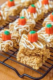 Rice Crispy Treat Pumpkins Halloween Treats 58 Recipes Church Of Halloween