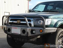 2002 toyota tacoma front bumper 1996 2002 toyota 4runner front winch mount plate bumper