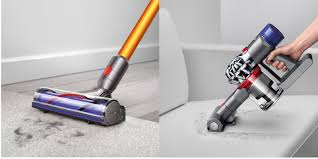 Dyson Handheld Vaccum This Dyson Refurbished V8 Absolute Max Cordless Stick Handheld