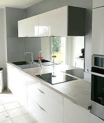miroir cuisine cuisine awesome credence en verre transparent cuisine high miroir en