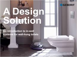 Modern Bathroom Toilets geberit presents modern bathroom design enabled by toilet system