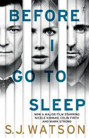 text publishing before i go to sleep book by s j watson