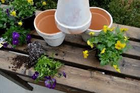 Plant Bench Plans - potting bench plans refresh restyle