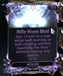 Challenge Kills Tell Me Your Challenge To Unveil A Rifle Riven Mod Page 3