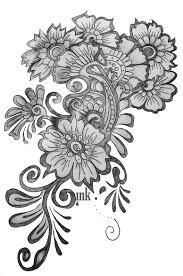 16 flower designs drawings images sakura flower drawing simple