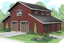barn style garage with rec room 72795da architectural designs