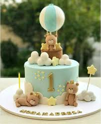 Bear Themed Baby Shower Cakes Pin By Sush On 1st Birthday Pinterest Bear Cakes Boy