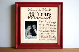 30th anniversary gifts for parents 30th wedding anniversary gift new th wedding anniversary gift ideas
