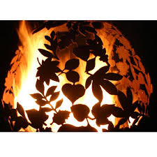 Sphere Fire Pit by Handmade Leaf Fire Ball Sphere Fire Pit Fireball U2013 Coast