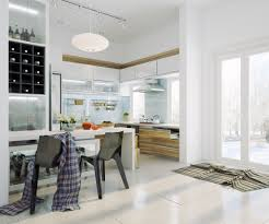 Modern Kitchen Chairs by Modern White Kitchen Style Stylish The Best And Modern White
