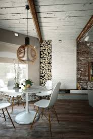 The Brick Dining Room Furniture 55 Brick Wall Interior Design Ideas Art And Design