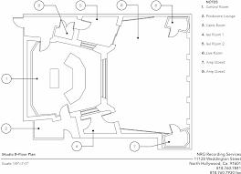 the floorplan for nrg recording studio b nrg recording studio b